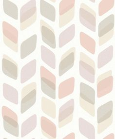 Geometric Trail Pink wallpaper by Albany