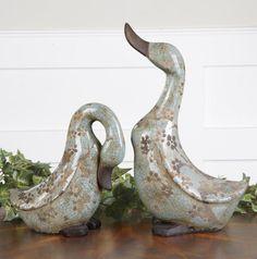 Citrita, Ceramic Ducks by Billy Moon