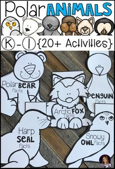 Arctic and Polar Animal {20 Activities} for Kindergarten and First Grade