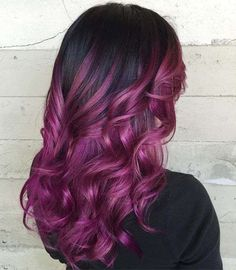 96 Wonderful Purple Hair Color Styles for 40 Versatile Ideas Of Purple Highlights for Blonde Brown, 50 Cosmic Dark Purple Hair Hues for the New Image, 120 Outstanding Purple Hair that Gives You A Splendiferous, 50 Dark Purple Hair Color Ideas. Dark Purple Hair Color, Hair Color 2018, Magenta Hair, Brown Ombre Hair, Purple Highlights, Violet Hair, Ombre Hair Color, Purple Ombre, Peekaboo Highlights