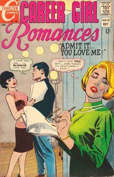 Comics Other Bronze Age Comics Carrer Girl Romances #62 Comic 1971 Charlton Beautiful In Colour