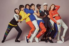 Energetic Brand-Centered Editorials - Opening Ceremony Brought Back Esprit Clothing with New Twists (GALLERY)