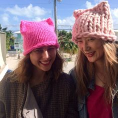 Women knit thousands of 'pussy power hats' to support the Women's March on Washington – Women in the World in Association with The New York Times – WITW