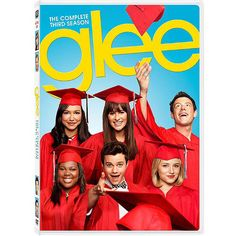 It's graduation time for some of our favorite Glee club members! Glee: The Complete Third Season comes out on DVD and Blu-ray on Tuesday, August 14, 2012. Catch up before the fourth season starts!