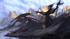 Dragon Charge, Marius Bota on ArtStation at https://www.artstation.com/artwork/dragon-charge