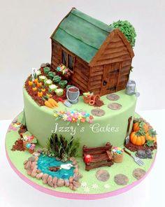 Garden cake! By Izzy's cakes