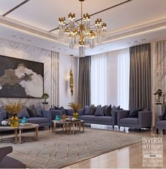 The Rise Of Making Your Living Room Look And Feel More Luxurious 27 - homeuntold Ceiling Design Living Room, Home Room Design, Home Design Decor, Interior Design Living Room, Living Room Designs, Elegant Living Room, Luxury Homes Interior, House Rooms, Home Decor Bedroom