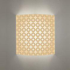 wall sconce  light beige pattern wall art mood by Art4Light, $65.00