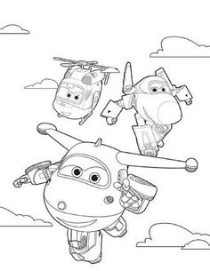 39 Best Twins - Superwings images | Birthday ideas, Coloring pages ...