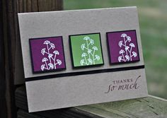 Pocket Silhouettes Thank-you by 4Chunut - Cards and Paper Crafts at Splitcoaststampers