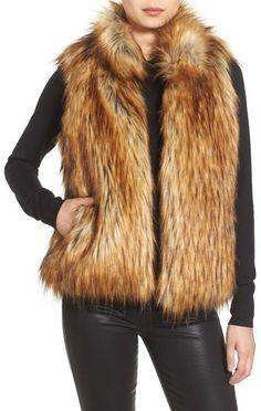 BB Dakota 'Colton' Faux Fur Vest | NORDSTROM saved by #ShoppingIS