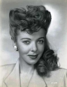 Ida Lupino, actress, who was married to actor Howard Duff