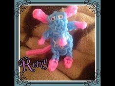 Rainbow Loom REMY (Ratatouille). Designed and loomed by Loomie World. Click photo for YouTube tutorial. 06/18/14.