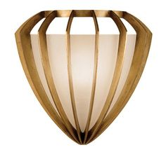 Staccato Gold Sconce.