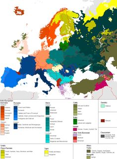 Languages of Europe. Re-pinned by #Europass