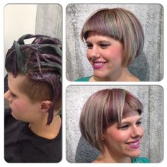 Randee, stylist and educator showing of her pastels done with Wella Professionals Color.id #masphx