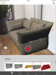 Einrichtungs App occasional table ltr vitra aufgenommen mit unserer app