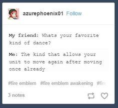 Fire Emblem Tumblr post