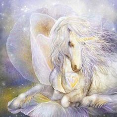 Heart Of A Unicorn Art Gift Box featuring the fantasy art of Carol Cavalaris. Fantasy Unicorn, Unicorn And Fairies, Unicorns And Mermaids, Unicorn Art, Fantasy Artwork, Magical Creatures, Fantasy Creatures, Beautiful Unicorn, Mythological Creatures