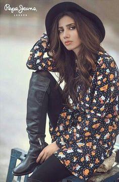Mahira Khan for Pepe Jeans winter 2015 Campaign