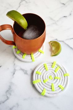 Easy rope coaster DIY @joannstores