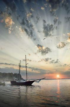 Восход солнца  Вадима Федотова на 500px