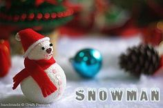 Cute Snowman - Craft Passion