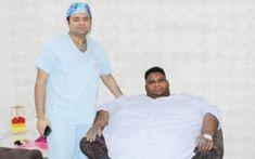 بھارت میں ماریشس کے410کلو گرام وزنی شخص کا علاج