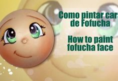 Como pintar cara fofucha 5 - How to paint fofucha face 5 Baby Dress Patterns, Doll Patterns, Crochet Slippers, Crochet Toys, Foam Crafts, Arts And Crafts, Flower Pot People, Eye Painting, Doll Maker