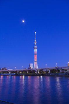 Tokyo sky tree Xmas lightup by Masahiro Morita, via 500px