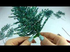 Голубая ель. Урок 1 - Материалы и инструменты / Blue spruce. Lesson 1 - Tools & supplies - YouTube