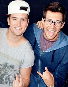 logan henderson and james maslow