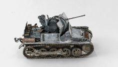 Flakpanzer I - Winter 1/35 Scale Model