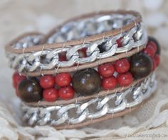 Great video tutorials on how to make this beautiful DIY Wrap Bracelet.
