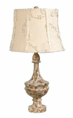 Shabby Chic lamp Antique Table Lamps, Table Lamp Wood, Vintage Lamps, Shabby Chic Lamps, Shabby Chic Furniture, French Country Tables, Retro Appliances, I Love Lamp, Unique Lamps