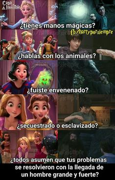 Harry es una princesa