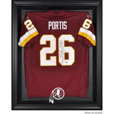 Mounted Memories NFL Logo Jersey Display Case NFL Team: St. Louis Rams, Frame Color: Mahogany