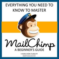 Building your email list is a key ingredient in creating a delicious blog. MailChimp is the perfect tool to help you build your list. Join me for 31 simple daily lessons as I teach you everything you need to know to master MailChimp. Then begin building your own email list and start growing a successful blog you love. ★ Learn HOW To Blog ★