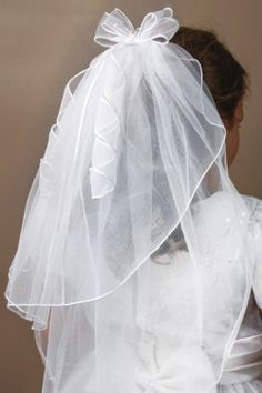 Double Bow Communion Comb Veil