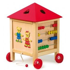 Activity center on pinterest vans toys and activities - Afneembaar huis ...