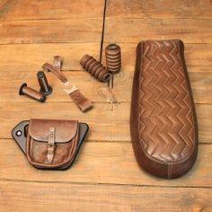 "Pack ""Cuir"" pour Moto Guzzi V7"