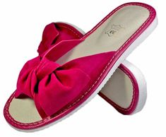 Demi women backless open toe slippers – Reindeer Leather Bedroom Slippers, Bow Design, Leather Slippers, Wide Feet, Womens Slippers, Reindeer, Open Toe, Backless, Pairs