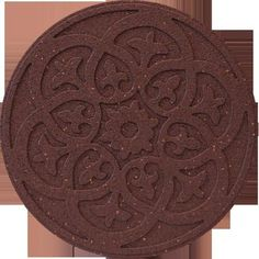 EcoTrend - 18 Inch Round SCROLL TC Stepping Stone - MT5000987 - Home Depot Canada  $7.99 Paint it White. Good for Table top.