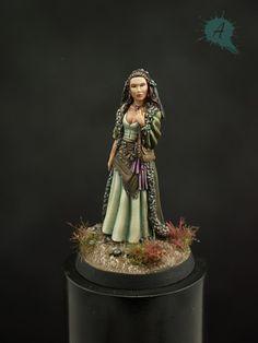 Female shaman from darksword   Arsies Studio Blog