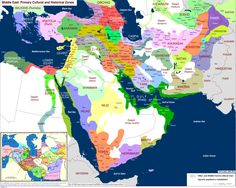 Islam Maps Islam Middle east and Middle