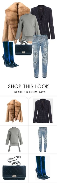 """Untitled #147"" by stylesbylex on Polyvore featuring Paul Smith, Balenciaga, Dolce&Gabbana and Chanel"