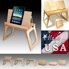 Original Bed Desk Portable Bookstand Lap Stand Art Easel Laptop Computer…