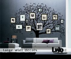 Family tree Decal   Wall decor  large vinyl by LargeWallDecals, $171.00