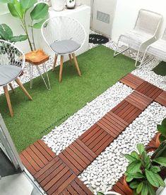 Kitchen Room Design, Home Room Design, Small House Interior Design, House Design, House Architecture Styles, Small Courtyard Gardens, Diy Home Decor, Room Decor, Garden Floor