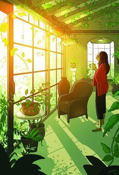 Jokainen introvertti tietää, miltä – ja miten ihanalta – yksinolo tuntuu. Mutta miltä se näyttää? Kuvittaja ja taiteilja Yaoyao Ma Van As kertoo sen meille ... Read more Artikkeli Yksin ja onnellinen – Yaoyao Ma Van Asin huikeisiin kuviin tiivistyy yksinolon ilo ja rauha on alun perin julkaistu sivustolla Evermind. Living Alone, Joy Of Living, Christopher Mccandless, Illustrator, Alone Art, Wow Art, Aesthetic Art, Introvert, Belle Photo